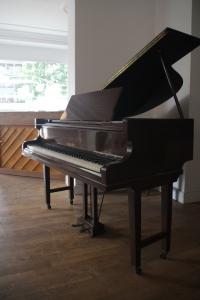 small grand piano