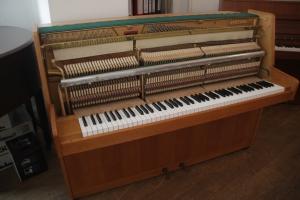 Klavier Hupfeld Mechanik